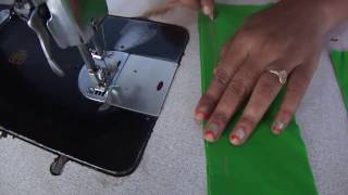 Blouse stitching in tamil | Blouse patti part stitching