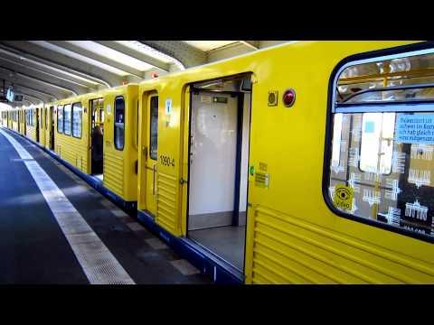 U-Bahn Berlin G-Zug am Kottbuser Tor U12 [HD]