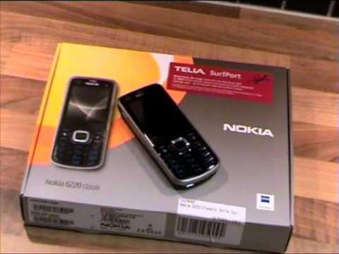 Unboxing Nokia 6220 Classic