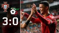 Cristiano Ronaldo und Co. im WM-Modus: Portugal - Algerien 3:0   Highlight   Länderspiele   DAZN