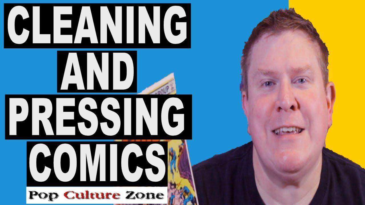 Comic Book Cleaning and Pressing Service | Popculturezone.com