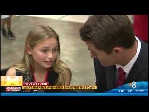 JA Biztown featured on CBS News 8