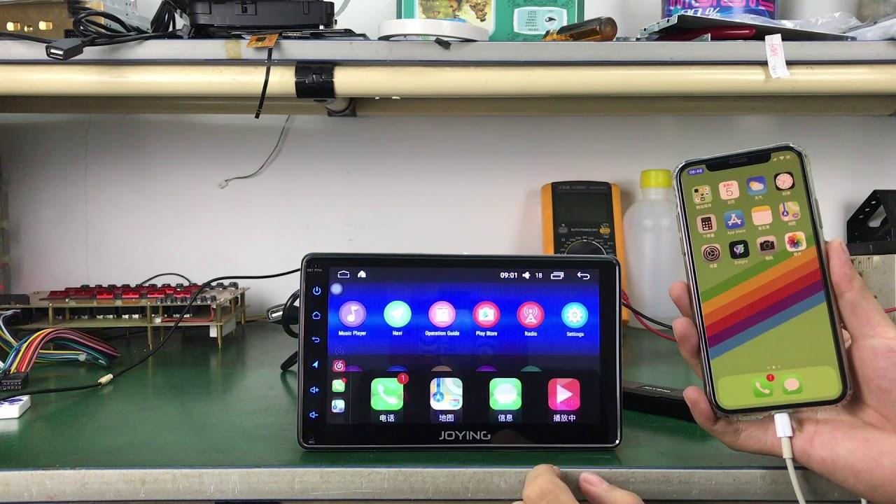 JOYING Universal USB Apple CarPlay Dongle Fit for Android Head Unit  Autoradio