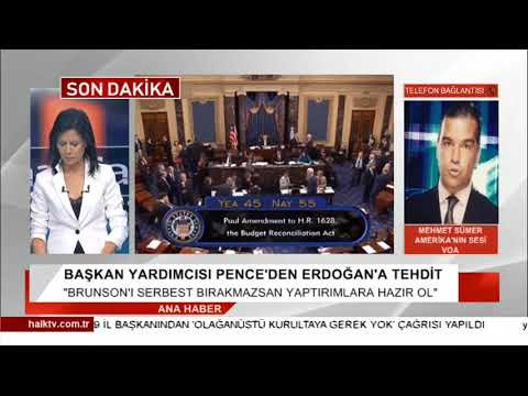 ABD'den Erdoğan'a tehdit / Mehmet Sümer