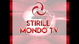 STIRILE MONDO TV 16 01 2020