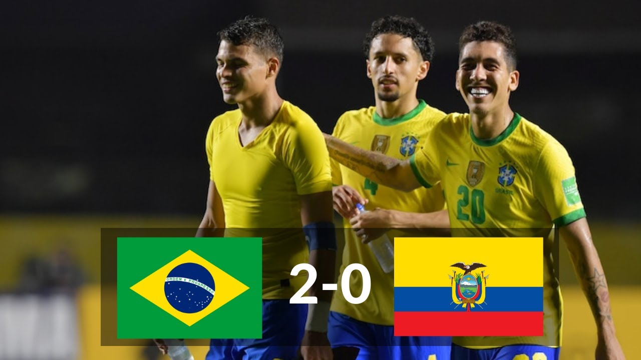 Goals and Highlights: Brazil 2 - 0 Ecuador in CONMEBOL Qualifiers ...