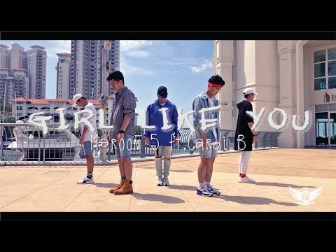 Girl Like You - Maroon 5 ft. Cardi B | Choreography by Phelan & Vron