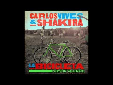Carlos Vives, Shakira  La Bicicleta Vallenato Version