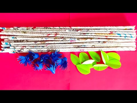 Paper Flower Wall Decoration Ideas- Paper Craft-Home Decorating Ideas#papercraft#walldecorationideas