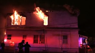 Belleville NJ Fire Department 2nd Alarm Fire 86 Belmont Ave 11-28-15