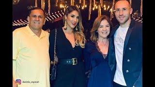 Don Hernán, padre de David y Daniela Ospina, falleció en la casa de su familia