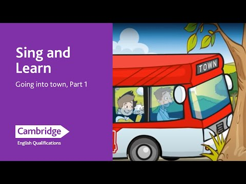 Sing and Learn, Going into town, Part 1