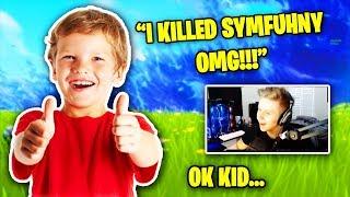This Stream Sniper *KILLED* Symfuhny (FUNNY REACTION) | Fortnite Battle Royale