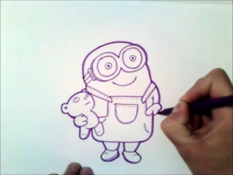 Como Dibujar A Bob Minion Como Dibujar A Bob Minion Paso A Paso How To Draw Bob The Minions