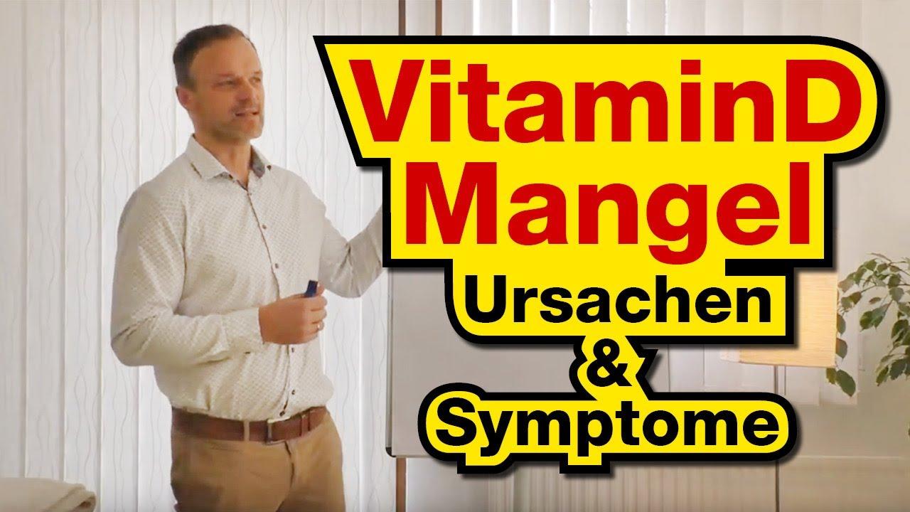 Symptome bei vitamin d mangel