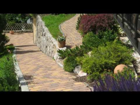 Decoración de jardines en pendientes