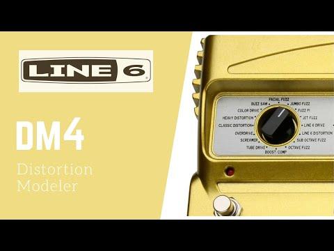 Line 6 DM4 Distortion Modeler (How does it sound?)