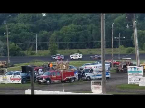 Abby Hacker @ Fiesta City Speedway- Heat 8.9.17, Part 1