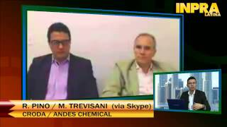Webcast: Entrevista con Croda / Andes Chemical