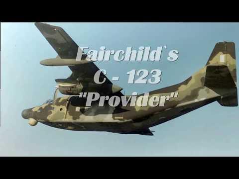 """Fairchild´s C-123 """"Provider"""""""