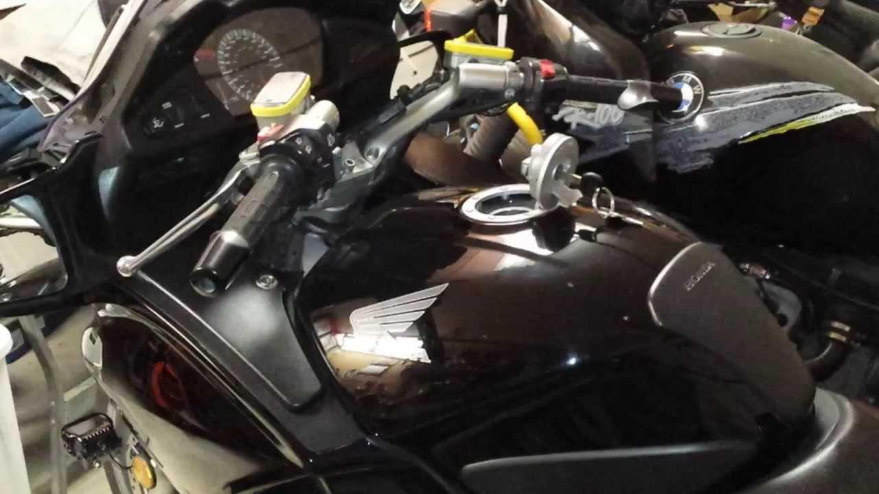 Honda St Fuel Tank Bubbles