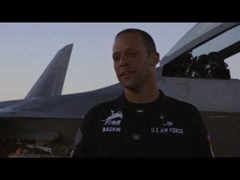 DFN:2018 F-22 Raptor Demo Team Media Kit, TUCSON, AZ, UNITED STATES, 02.26.2018