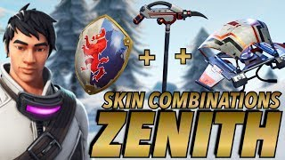"""ZENITH"" SKIN BEST BACKBLING + SKIN COMBOS! (Season 7) (Fortnite Battle Royale) (2018)"