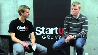 Brian Whitmer (co-founder of Instructure) at Startup Grind Utah
