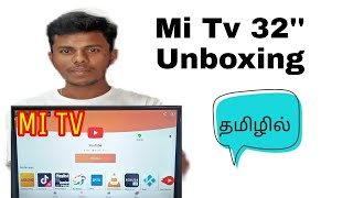 Xiaomi MI 32 inch Tv unboxing and tamil full review | mi tv specification