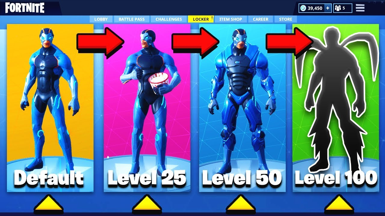 How To Upgrade Your Skin In Fortnite Battle Royale Omega Skin