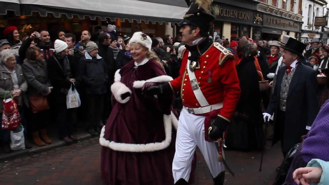 dickensian christmas festival parade 2012 rochester uk - Dickens Christmas Festival