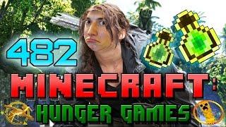 Minecraft: Hunger Games w/Mitch! Game 482 - SHARPNESS SWORD!