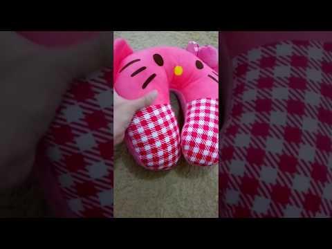 Bantal Leher Hello Kitty - Inabaystore