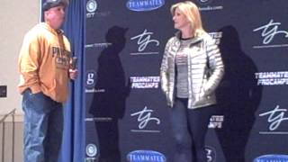 Garth Brooks & Trisha Yearwood Press Conference
