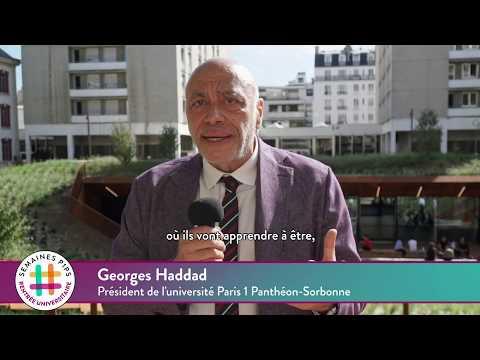 Rentrée 2019 à Paris 1 Panthéon-Sorbonne