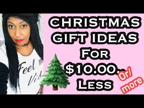 Gifts under $10.00/Christmas Gift ideas - YouTube