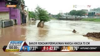 Banjir 70 Cm Rendam Kawasan Kampung Melayu Kecil