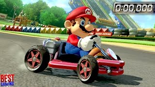 Mario Kart 8 Deluxe - All Time Trials 150cc (Golden Tires, All Nintendo Ghosts)