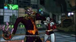 SFxT Mods Cross Arts The Joker X Harley Quinn vs Batman X Catwoman (Slow Motion)
