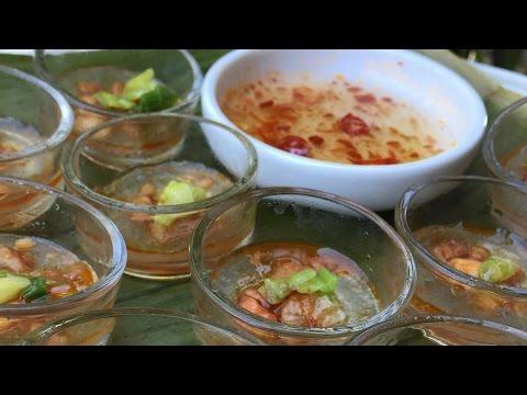 Jn Banh Bot Loc Chen Vietnamese Tapioca shrimp & Pork Dumplings