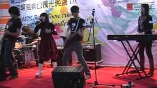 30-11-2008 Avenue of Stars,Hong Kong. Teen AIDS Band Show cum World...