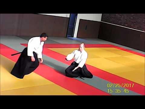 hanmi handachi waza ryote dori kokyu nage association aïkido Longjumeau Yves BUSSER