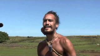 Unos segundos de lengua Rapanui