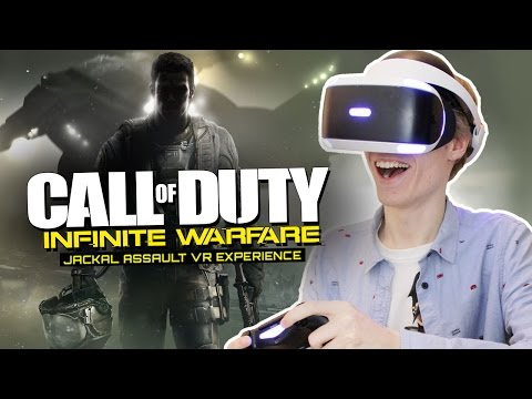 CALL OF DUTY IN VIRTUAL REALITY! | Infinite Warfare: Jackal Assault VR (Playstation VR Gameplay)