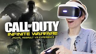 CALL OF DUTY IN VIRTUAL REALITY!   Infinite Warfare: Jackal Assault VR (Playstation VR Gameplay)