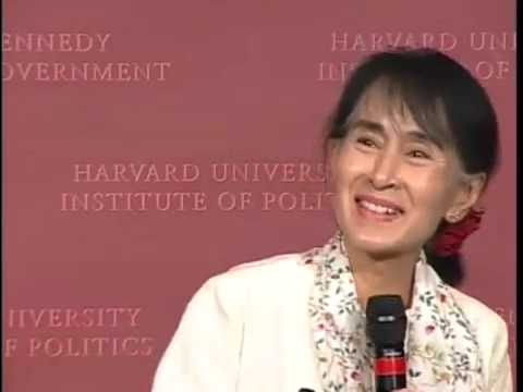 Aung San Suu Kyi   Speech and Q&A at Kennedy School of Government, Harvard University, Cambridge, Massachusetts, September 27, 2012