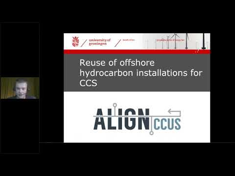 ALIGN CCUS Webinar 4 - Reuse of offshore hydrocarbon installations for CCS