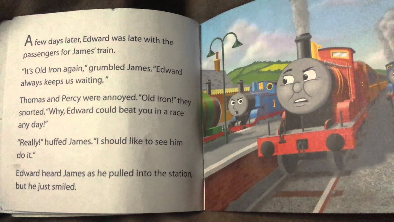 Thomas And Friends Edward Children S Book Read Aloud