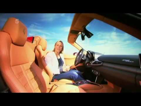 Fifth Gear Ferrari 458 Spider Full Test Review Sexy Vicki Butler-Henderson She is emotionally
