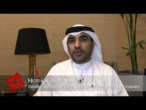 H.E.Hussain Al Mahmoudi, Director General, Sharjah Chamber of Commerce and Industry